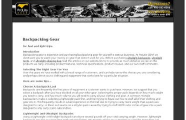 http://www.prolitegear.com/backpacking_gear.html