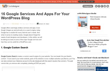 http://www.1stwebdesigner.com/design/16-google-services-apps-for-wordpress/