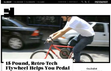 http://www.fastcoexist.com/1678410/15-pound-retro-tech-flywheel-helps-you-pedal-your-bike-to-tomorrow