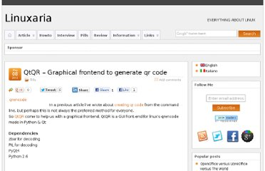 http://linuxaria.com/pills/qtqr-graphical-frontend-to-generate-qr-code?lang=en