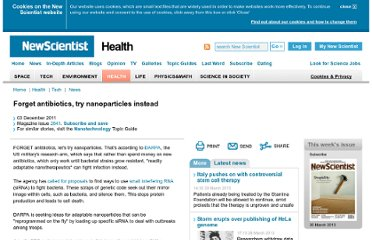 http://www.newscientist.com/article/mg21228413.600-forget-antibiotics-try-nanoparticles-instead.html