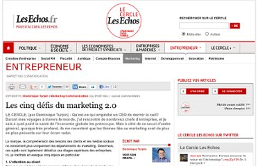 http://lecercle.lesechos.fr/entrepreneur/marketing-communication/221139225/cinq-defis-marketing-20