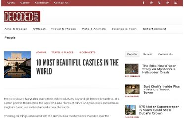 http://www.decodedstuff.com/10-most-beautiful-castles-in-the-world/