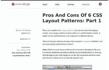 http://www.vanseodesign.com/css/css-layout-patterns-part-1/