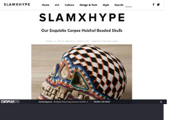 http://slamxhype.com/art-design/our-exquisite-corpse-huichol-beaded-skulls/