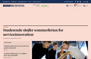 http://www.business.dk/karriere/studerende-sloejfer-sommerferien-for-serviceinnovation