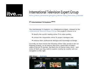 http://www.international-television.org/itve/