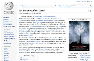 http://en.wikipedia.org/wiki/An_Inconvenient_Truth