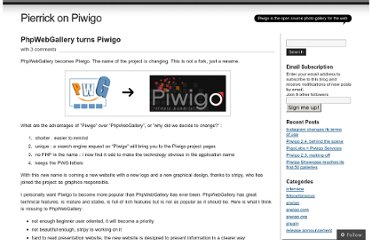 http://piwigo.wordpress.com/2008/09/24/phpwebgallery-turns-piwigo/
