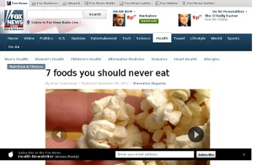 http://www.foxnews.com/health/2011/12/01/7-foods-should-never-eat/
