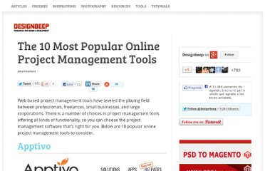 http://designbeep.com/2011/12/01/the-10-most-popular-online-project-management-tools/