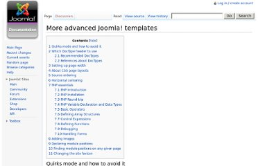 http://docs.joomla.org/More_advanced_Joomla!_templates