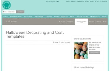 http://www.marthastewart.com/274896/halloween-decorating-and-craft-templates