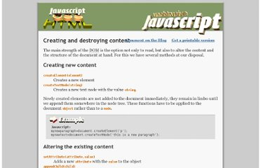 http://onlinetools.org/articles/unobtrusivejavascript/chapter3.html
