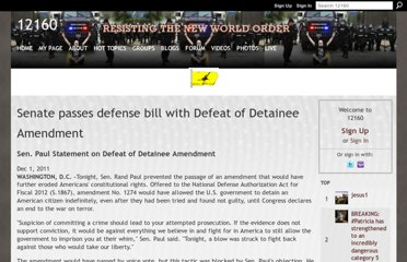 http://12160.info/page/senate-passes-defense-bill-with-defeat-of-detainee-amendment?page=2
