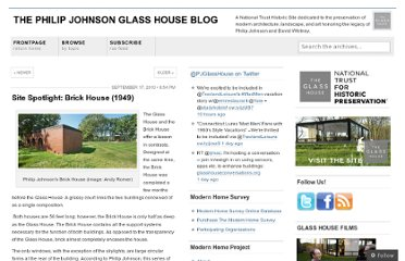 http://philipjohnsonglasshouse.wordpress.com/2010/09/17/site-spotlight-brick-house-1949/