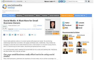 http://socialmediatoday.com/jay-osterholm/399256/social-media-must-have-small-business-owners