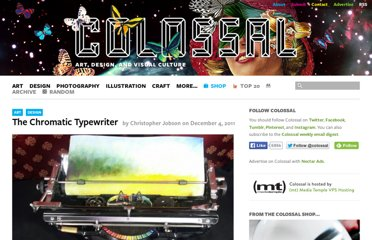 http://www.thisiscolossal.com/2011/12/the-chromatic-typewriter/