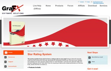 http://www.grafxsoftware.com/product.php/Star_Rating_System_2.0/8/