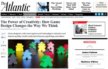 http://www.theatlantic.com/entertainment/archive/2011/09/the-power-of-creativity-how-game-design-changes-the-way-we-think/245441/