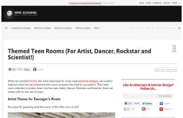 http://www.home-designing.com/2011/02/themed-teen-rooms-for-artist-dancer-rockstar-scientist