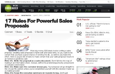 http://www.cbsnews.com/8301-505183_162-28555010-10391735/17-rules-for-powerful-sales-proposals/
