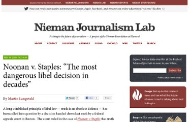 http://www.niemanlab.org/2009/02/the-most-dangerous-libel-decision-in-decades/