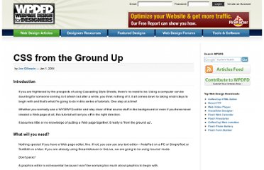 http://www.wpdfd.com/issues/70/css_from_the_ground_up/