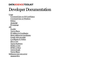 http://www.datasciencetoolkit.org/developerdocs#commandlinewindows