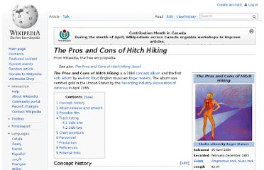 http://en.wikipedia.org/wiki/The_Pros_and_Cons_of_Hitch_Hiking