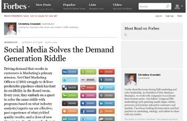 http://www.forbes.com/sites/christinecrandell/2011/12/04/social-media-solves-the-demand-generation-riddle/
