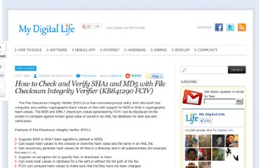 http://www.mydigitallife.info/how-to-check-and-verify-sha1-and-md5-with-file-checksum-integrity-verifier-kb841290-fciv/