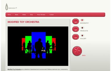 http://www.warmcircuit.com/artists/modified-toy-orchestra/