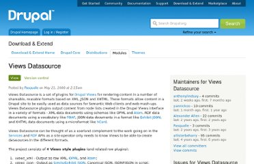http://drupal.org/project/views_datasource