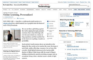 http://www.nytimes.com/2011/12/05/technology/khan-academy-blends-its-youtube-approach-with-classrooms.html?pagewanted=all