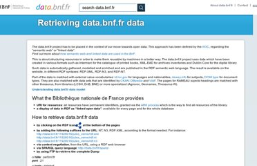 http://data.bnf.fr/semanticweb