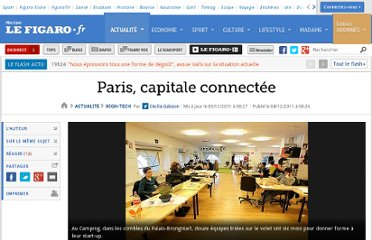 http://www.lefigaro.fr/hightech/2011/12/04/01007-20111204ARTFIG00230-paris-capitale-connectee.php