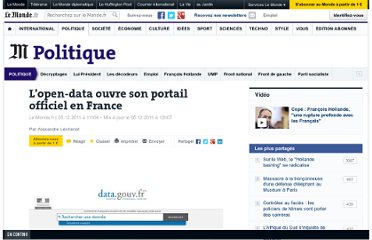 http://www.lemonde.fr/politique/article/2011/12/05/l-open-data-ouvre-son-portail-officiel-en-france_1613302_823448.html