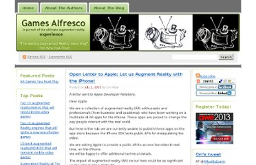 http://gamesalfresco.com/2009/07/02/open-letter-to-apple-let-us-augment-reality-with-the-iphone/