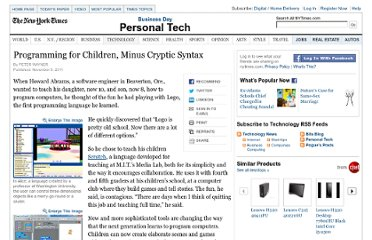 http://www.nytimes.com/glogin?URI=http://www.nytimes.com/2011/11/10/technology/personaltech/computer-programming-for-children-minus-cryptic-syntax.html&OQ=_rQ3D4Q26scpQ3D1Q26sqQ3DmitchelQ2520resnickQ26stQ3Dcse&OP=4eccb1d8Q2FmGQ2AZmaoX.WooQ3CQ24mQ24sMMmMMmMsmQ3CQ2AXQ23-oQ7BovPmQ60Q2AW.o-Q3FQ7BQ3CQ2AXQ23mXodQ60(Q3CQ2AWQ27Q60WovWQ3Fddt-vQ27koWQ27XQ23tQ7BaWQ2A-Q27dt-(.Q27XWPQ60Q3CtXQ27.P-Q3CQ3Fi,Q23Q3CdQ7B