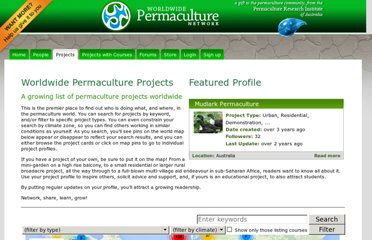 http://www.permacultureglobal.com/projects