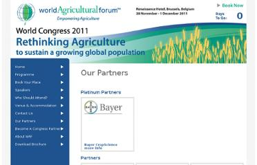 http://www.worldagriculturalforum2011.com/our-partners/