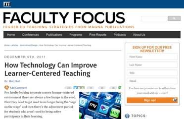 http://www.facultyfocus.com/articles/instructional-design/how-technology-can-improve-learner-centered-teaching/