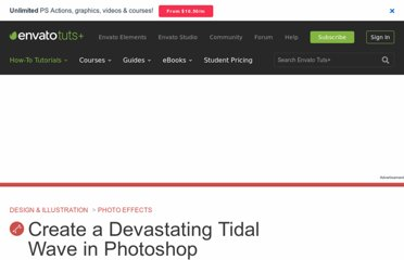 http://psd.tutsplus.com/tutorials/photo-effects-tutorials/tidal-wave-photoshop/