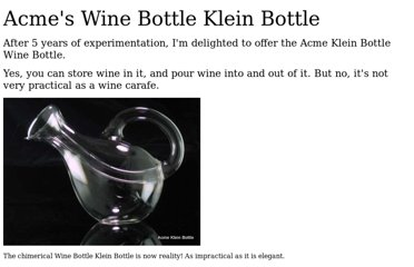 http://www.kleinbottle.com/wine_bottle_klein_bottle.html