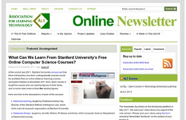 http://newsletter.alt.ac.uk/2011/11/what-can-we-learn-from-stanford-university%e2%80%99s-free-online-computer-science-courses/