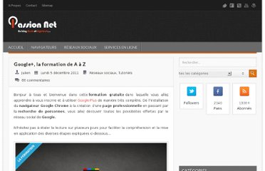 http://www.passion-net.fr/google-plus-la-formation-de-a-a-z/