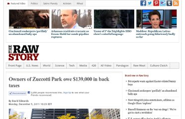 http://www.rawstory.com/rs/2011/12/05/owners-of-zuccotti-park-owe-139000-in-back-taxes/