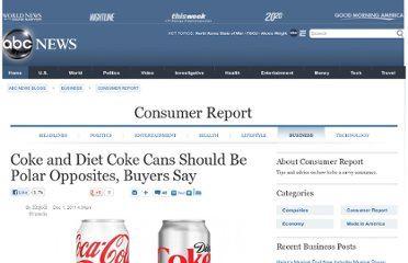 http://abcnews.go.com/blogs/business/2011/12/white-cans-of-coke-get-frosty-reception/