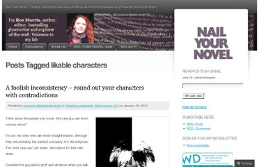 http://nailyournovel.wordpress.com/tag/likable-characters/